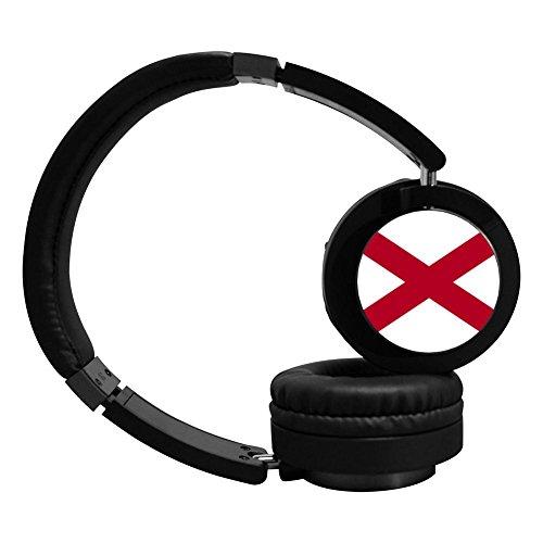 PeKnt Alabama Wireless Bluetooth Headphones Stereo Over Ear Folding Earphone Black
