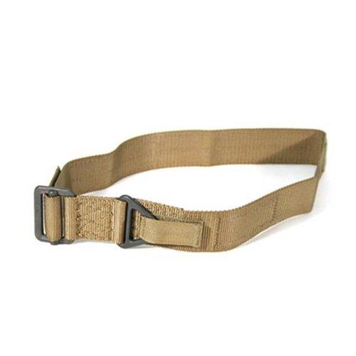 BLACKHAWK! CQB/Rigger's Belt – Desert Sand Brown, Medium, Outdoor Stuffs