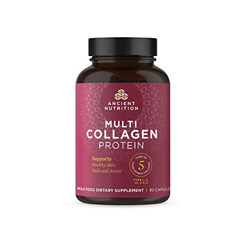Multi-Collagen-Capsules-Collagen-Types-I-II-II-V-X-Collagen-Pills-Formulated-by-Dr-Josh-Axe-Blend-of-Food-Sourced-Collagen-Peptides-Supports-Skin-Nail-Gut-Health-90-Count-30-Servings