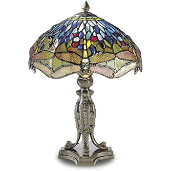 High Quality Dale Tiffany Dragonfly Table Lamp