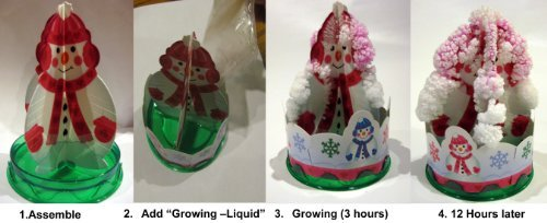 Grow Your Own Snowman Right Before Your Eyes; Holiday ()