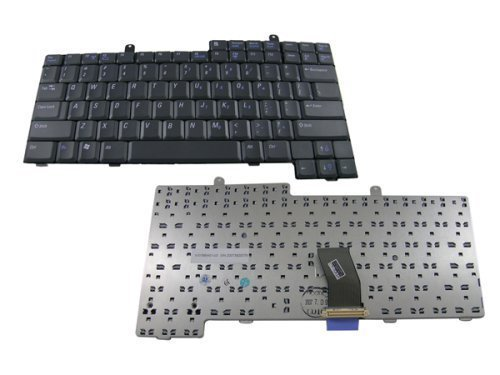Dell Laptop Keyboard for Inspiron 500M, 600M, 8500, 8600, Latitude D500, D600, D800, 1M745
