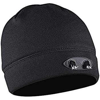 de47ad29d81 POWERCAP LED Beanie Cap 35 55 Ultra-Bright Hands Free LED Lighted Battery  Powered