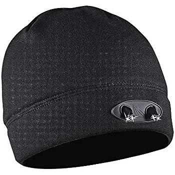4ebcdeaead9 POWERCAP LED Beanie Cap 35 55 Ultra-Bright Hands Free LED Lighted Battery  Powered Headlamp Hat - Black Fleece (CUBWB-4553)