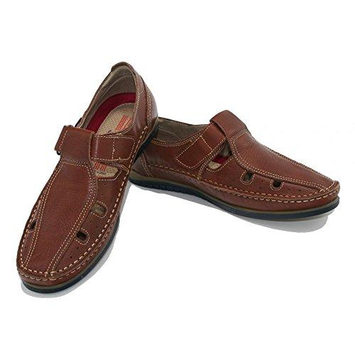 Sandals Ganzjahresartikel Fashion LUISETTI Leather Men's q60t8P