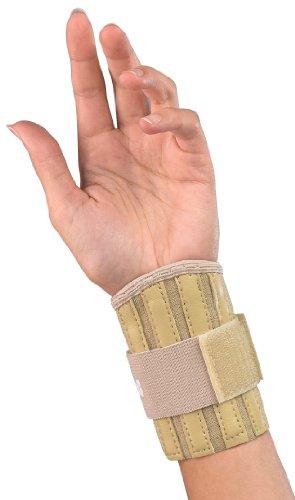 (Mueller Sports Medicine Wrist Brace, Beige, One Size)