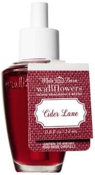 Bath & Body Works Wallflowers Fragrance Refill Bulb Cider Lane 2017