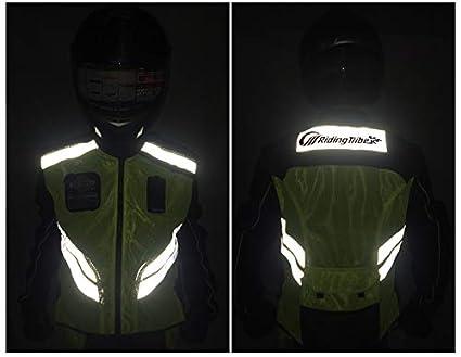 LANLAN Giacca da motociclista 2XL Uniforme da lavoro in giubbotto riflettente per uomo//donna