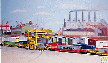 Walthers SceneMaster Mi-Jack Tl-1000 Container Crane for sale  Delivered anywhere in USA