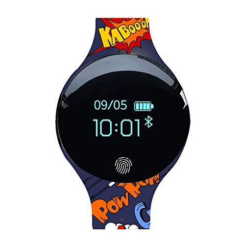 NACOLA Smart Watch,Mens Digital Sports Watch Waterproof Outdoor Pedometer Calorie Counter Multifunction Bluetooth Smart Watch ()
