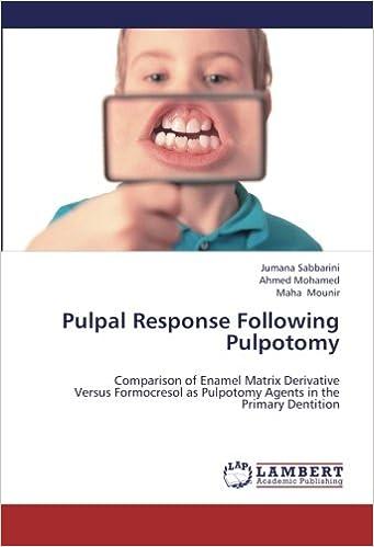 Pulpal Response Following Pulpotomy: Comparison of Enamel