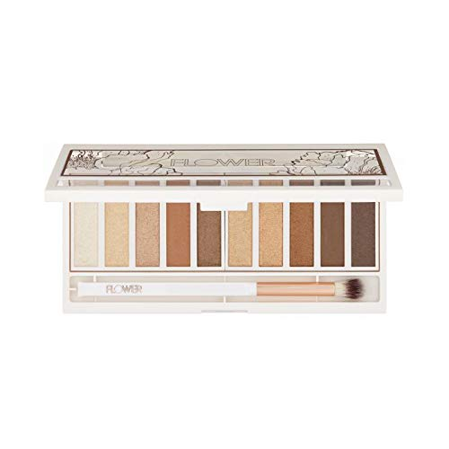 Flower Beauty Shimmer & Shade Eyeshadow Palette (Golden Natural)