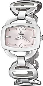 Festina 6246 - Reloj , correa de acero inoxidable color plateado