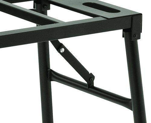 Portable Mixer Stand Foldable Keyboard Table Dj Gear Top