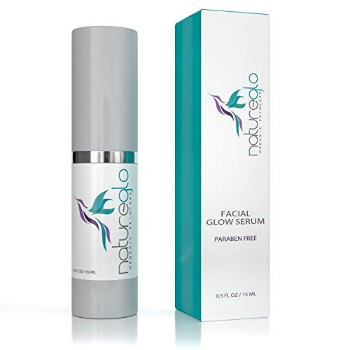 SALE! Organic Facial Serum - Natural Vitamin C Serum, Acne & Scar Treatment For Sensitive, Dry & Oily Skin - 100% Natural Face Serum