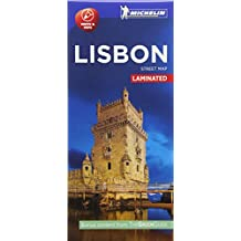 Michelin Lisbon City Map - Laminated