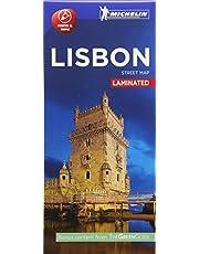 Michelin Lisbon City Map - Laminated