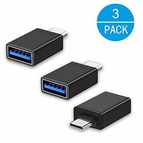 - USB-C Adapter,Type C Adapter,[3 Pack],Hi-speed USB-C to USB-A 3.0 Adapter for USB Type-C Devices,for MacBook,ChromeBook Pixel,Nexus 5X,Nexus 6P,Nokia N1 Tablet and More Devices[Black]