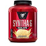 BSN SYNTHA-6 Isolate Protein Powder, Whey Protein Isolate, Milk Protein Isolate, Flavor: Vanilla Ice Cream, 48 Servings