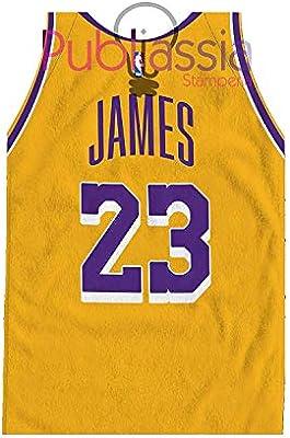 Los Angeles Lakers James Lebron 23 Toalla de playa Player NBA ...