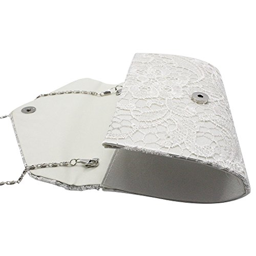 Handbag Purse Floral Lace Party Bag Nice Wiwsi Clutch Evening Lady Bridal Women qwaExnSf0