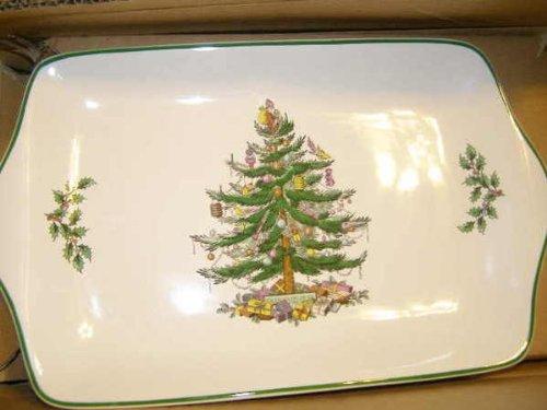 (Spode Christmas Tree Dessert Tray)