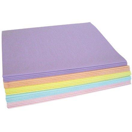 480 Pastel (Aviditi TPASPACK Pastel Tissue Paper Assortment Pack, 30