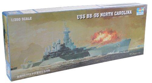 Trumpeter 1/350 Scale USS North Carolina BB55 (North Carolina Battleship)