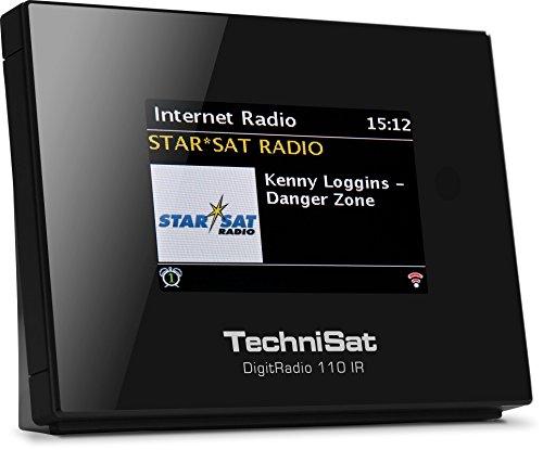 TechniSat DigitRadio 110 IR Digitalradio (Empfangsteil mit Internetradio, Multiroom-Streaming, optimal zur Aufrüstung bestehender HiFi-Anlagen, Bluetooth, WLAN, UPnP-Audio Streaming) schwarz