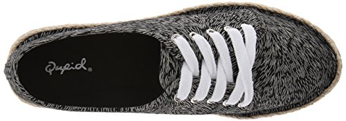 Ballet Qupid Mermosa Multi Flat 21 Women's Black qzBwTz8g