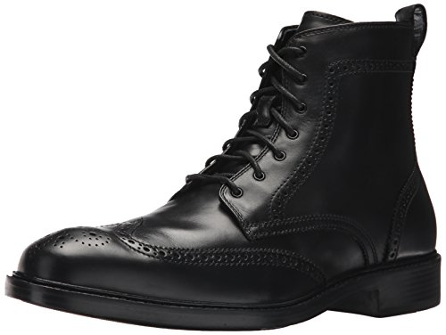 Cole Haan Men's Kennedy Wingtip II Fashion Boot, Black, 10 Medium US by Cole Haan