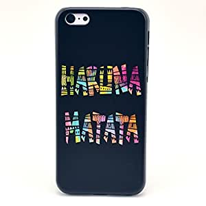 Sophia Shop phone iphone 5/5s iphone 5/5s Case, iphone 5/5s iphone 5/5s PC Hard Back Cover Case, PC Hard Case Slim, Protective Hard Plastic Back Cover Case with Colorful Picture Design for iphone 5/5s iphone 5/5s Amazing Painting Relief Design 3D Feeling Rilievo PC Material Protective Hard Case Colour Decoration Cover Shell for iphone 5/5s iphone 5/5s (HAKUNA MATATA)