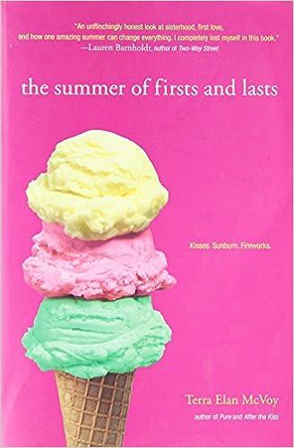 Audiobooks von itunes auf das iPhone herunterladen The Summer of Firsts and Lasts 1442402148 by Terra Elan McVoy PDF DJVU