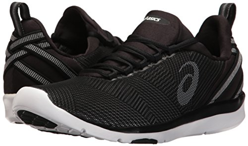 ASICS Women's Gel-Fit Sana 3 Cross-Trainer Shoe, Black/White/Silver, 7 M US by ASICS (Image #6)