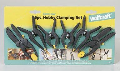 Wolfcraft 3454404 Needle-Nose & RATCHET Clamp Set