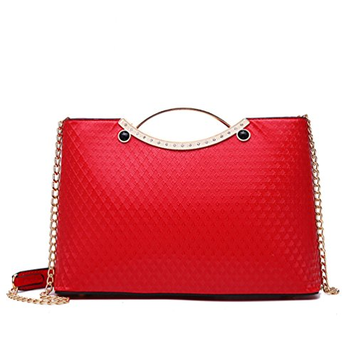 To Wine Beginning Metal Auspicious Red Girls For Tote Form Bags Handle Frame ZA5xq