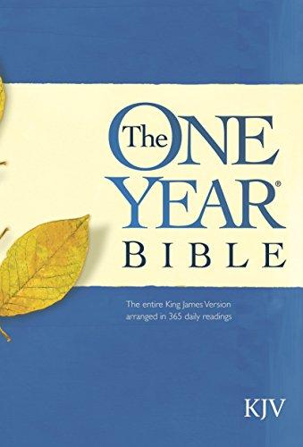 The One Year Bible KJV (The Best Hallelujah Version)
