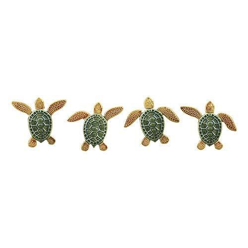 - Lauderdale Tile Turtle Step Marker Multi (TLSM-2403-MU)