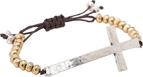Cross Bracelet Slide - 3