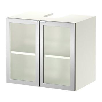 Ikea LILLANGEN Waschbeckenunterschrank mit 2 Türen; in weiß ...
