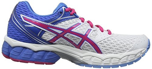 Chaussures 6 Powder Blanc Blue Femmes Asics Multisport Gel Pulse Hot White 120 Outdoor Pink E1wPxnqt6