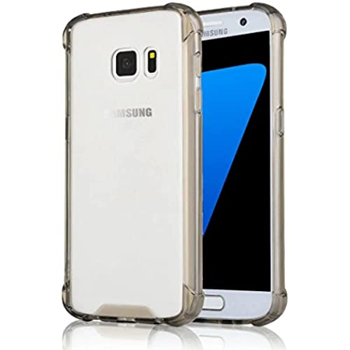 S7 Case, Samsung Galaxy S7 Case, Welity Ultra Slim Clear Hybrid Panel Drop-Proof Protective Snap On Cover Durable Case with Shockproof Cushion Corner for Sales