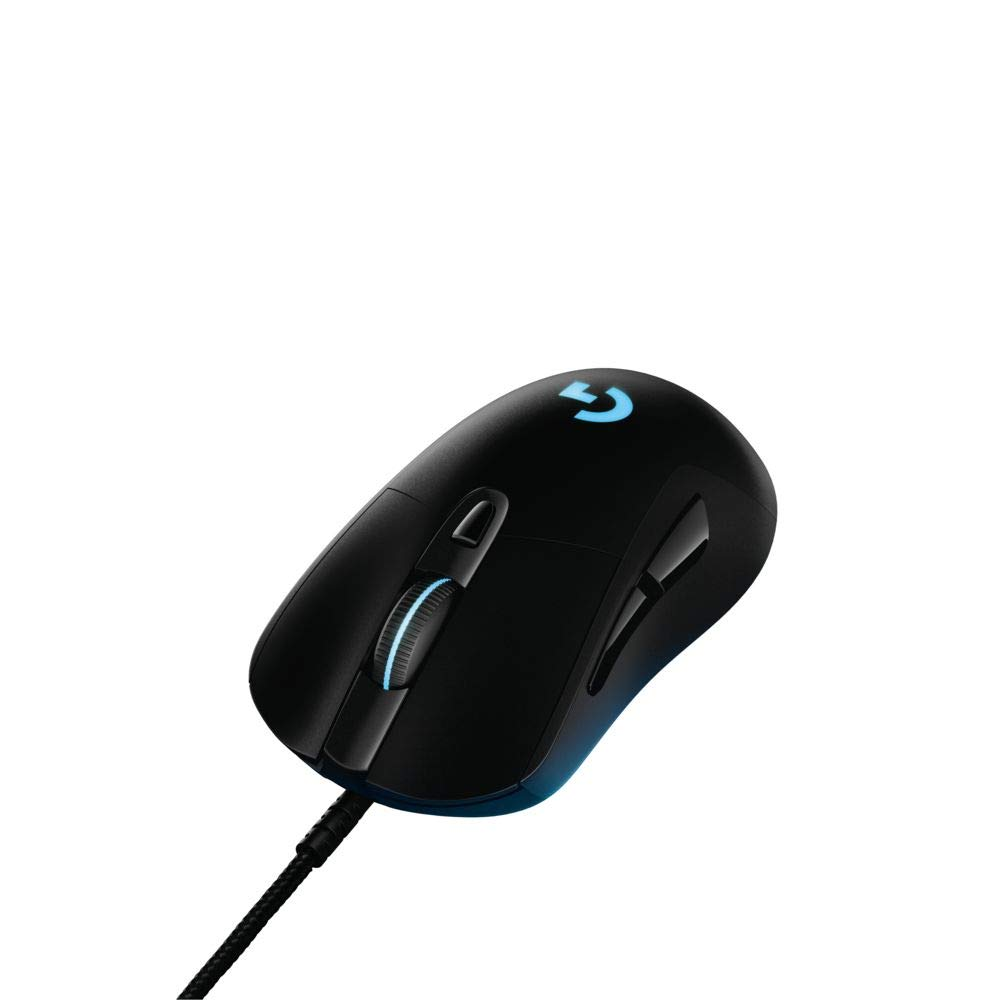 c97d99171ea Amazon.com: Logitech G403 Prodigy RGB Gaming Mouse – 16.8 Million Color  Backlighting, 6 Programmable Buttons, Onboard Memory, Up to 12,000 DPI:  Computers & ...