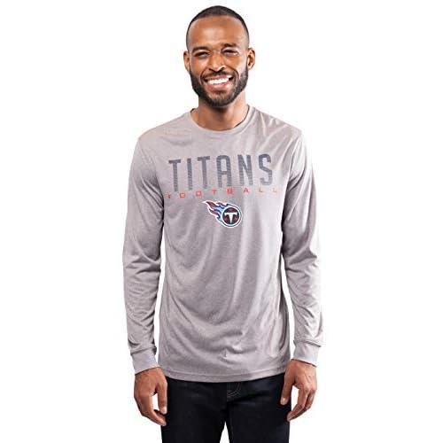 NFL Ultra Game Minnesota Vikings Active Long Sleeve Tee Shirt Medium Heather Grey