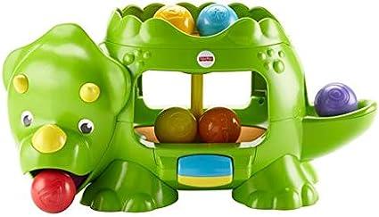 Acheter Authentic gamme exceptionnelle de styles attrayant et durable Fisher-Price Mon Dino Rigolo, jouet de balles pour bébé avec ...