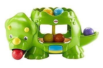 Fisher-Price-DHW03 Dino Bolitas saltarinas, Juguete bebé, (Mattel ...