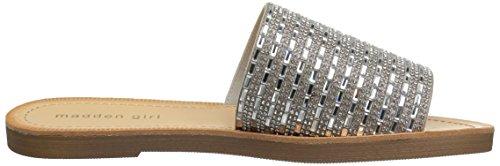 Madden Girl Womens Lulu Slide Sandal Silver / Multi