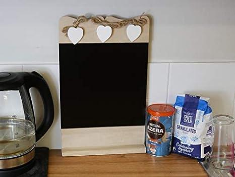 Pareti Lavagna Per Bambini : Homezone lavagnetta in legno shabby chic rustico cucina lavagnetta