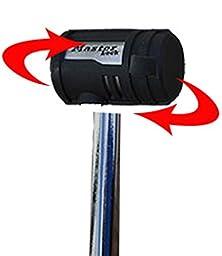 Master Lock 2866DATSC Swivel Head Receiver Lock, Chrome