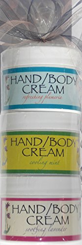 Pack cadeau de miel Hills Farm Spring Fling : Lait de chèvre main/corps crème Bundle avec naturel Alpha Hydroxy